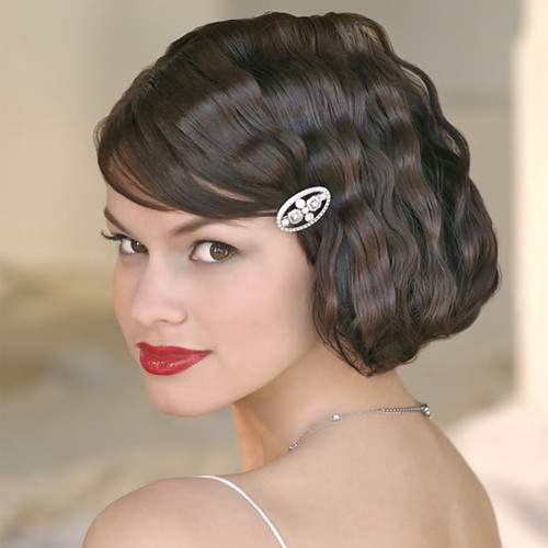 Tags: 1940s hairstyles, pin up girl hairstyles, retro wedding hairstyles,