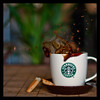 Coffee Splash (Dju*) Tags: coffee café 50mm nikon starbucks splash picnik starbuckscoffee dju nikond90 nikkorafs50mmf14g coffeesplash