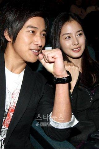 Kim Tae Hee and brother Lee Wan