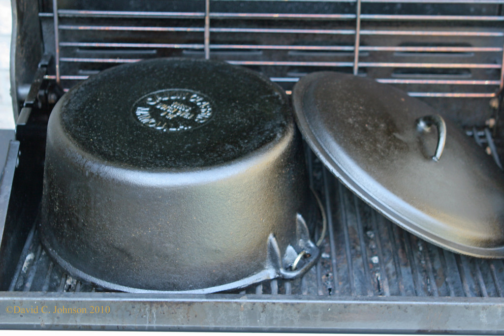 Seasoning Cast Iron Cookware