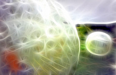 Two Zorb's (Benn Gunn Baker) Tags: new electric island rotorua baker north zealand inside charge particles atoms benn gunn zorbing sphereing orbing fractalius globeriding