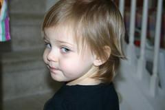 Maddie's First Haircut