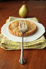 Pear and Frangipane Tart (Anne's Kitchen) Tags: food baking frangipane sweet almond pear pastry tart