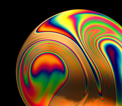 Soap Film 10 (Jane in Colour) Tags: macro water soap rainbow colours spectrum bright jane thomas patterns cosina swirls colourful liquid tpc soapfilm sonya100 sonyalpha minoltaamount struckbyrainbow tpcu12l1 tpcu12