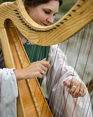 Pluck (cmaccubbin) Tags: music coral florida miami springs lauderdale strings ft fl deerfield harp pompano parkland harpist broward pluck