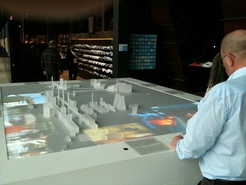 Scale model Zollverein glass