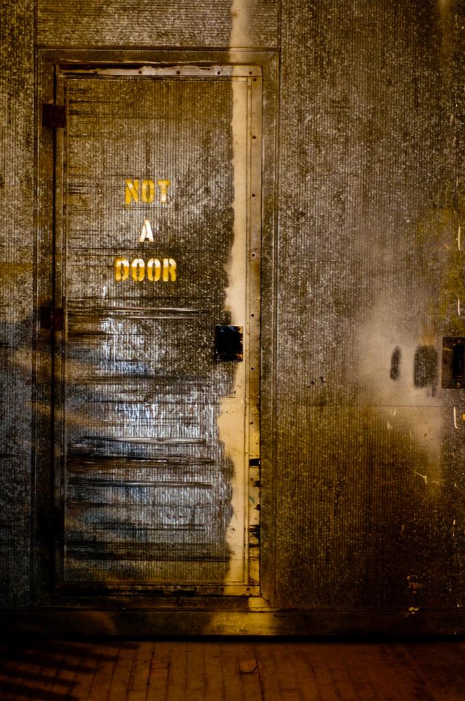 not a door