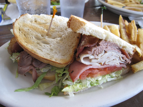 The country club sandwich