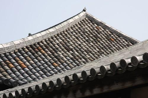 Gangō-ji Temple 瓦屋根の風景