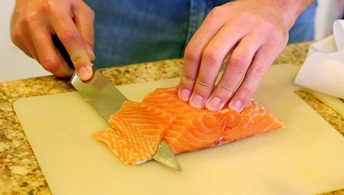 slicing for sashimi