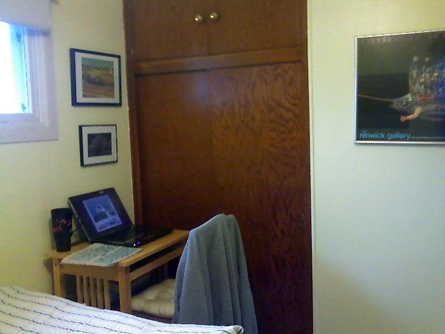 Bedroom SW corner
