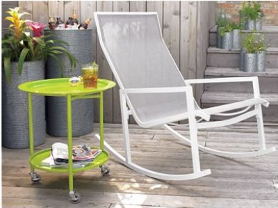 CB2 Outdoor Rocking Chair