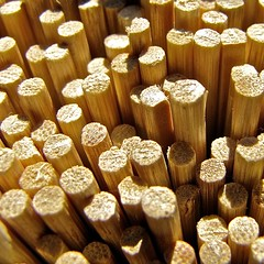 85/365 (VIRGO~63) Tags: wood macro texture closeup composition circle pattern bamboo round skewers 85365 canonpowershotsx20is virgo~63