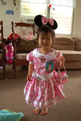 Aki as Minnie Mouse