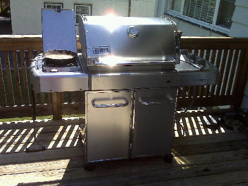 Weber Grill Assembly