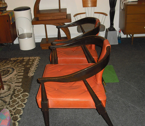 pair of vintage chairs sold