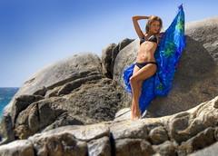 Beauty on the rocks (Jack Dean) Tags: sun beach cabo bikini mara noon cabosanlucas caribbeancruise brightonphotographers jackdeanphotography mm1112521