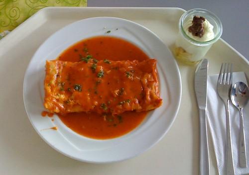 Canneloni mit Tomatensauce