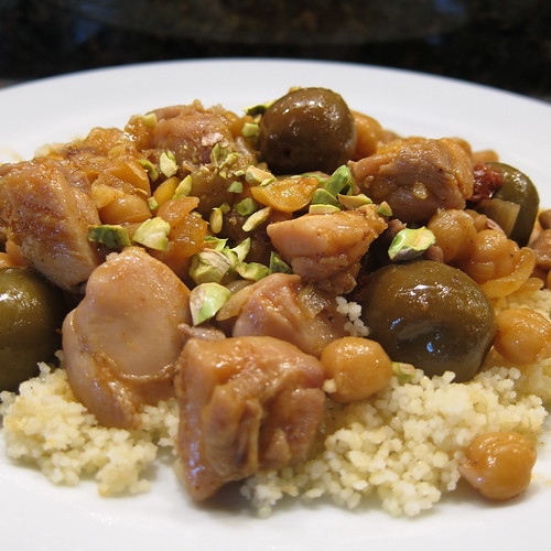 #91 - Chicken with Chickpeas & Olives