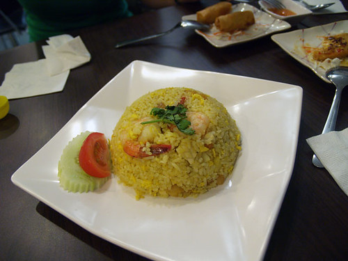Pineapple Fried Rice with Seafood