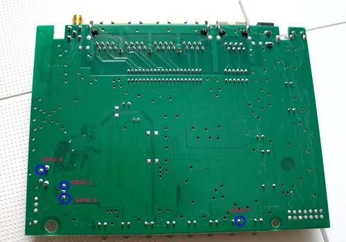 DLINK DIR-300 PCB BACK