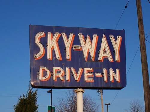 OH Akron - Sky-Way Drive-In by scottamus.