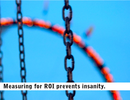 Measuring ROI prevents insanity