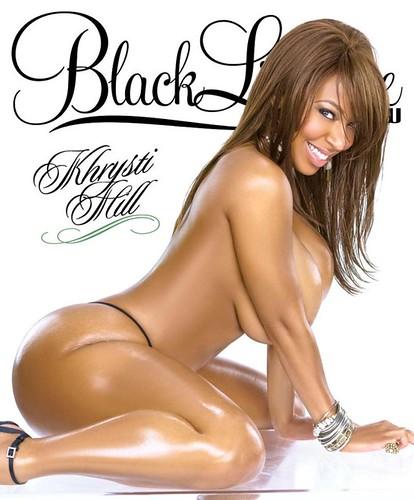 Khrysti Hill show magazine cover