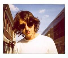 Alex Turner / Arctic Monkeys (Scottspy) Tags: alexturner arcticmonkeys polaroid polaroids spectra instantfilm film scottspy humbugtour arctic monkeys portraits people singer musicians alex portrait minoltainstantpro