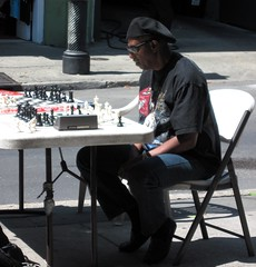 chess in the French Quarter (c2010 FK Benfield)