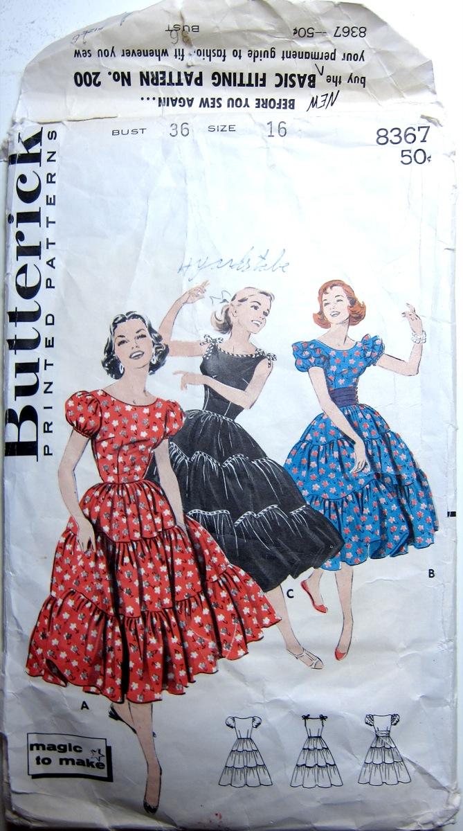 Vintage Butterick 8367