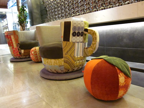 Tea cup chairs!