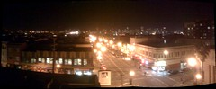 Beautiful view from the rooftop of Medjool in SF