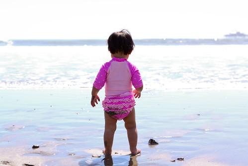 March beach trip