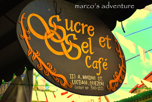 Sucre Sel et Cafe@ Lucban Quezon by marco adventure