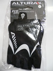 Altura Progel Asymetrix Mitts Short Finger Gloves