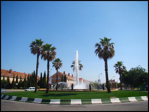 Rotonda Getafe Norte