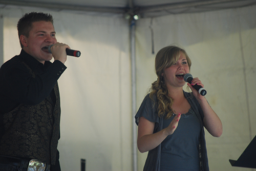 Jacob Nelson and Molly Wineland Poppy Festival