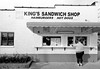 King's (F. Neil S.) Tags: sandwich shop milkshakes burgers cinderblock blackandwhite negative film 35mm