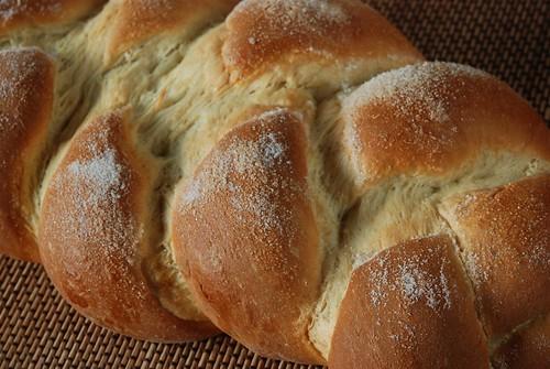 Cardamom Yeast Bread--partial braid shown