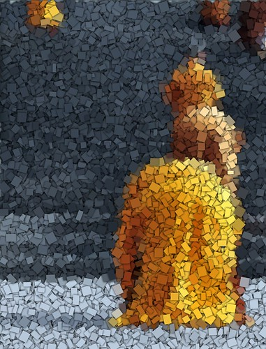 Monks mosaic
