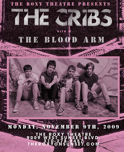 The Cribs November 9, 2009