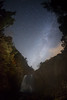 Milky Way waterfall (masahiro miyasaka) Tags: autumn tree japan night canon stars wonder star waterfall with competition fisheye galaxy astrophotography oneshot milkyway 夜 银河 earthandsky 星 sigma15mmf28exdgfisheye 銀河 eos5dmarkⅱ
