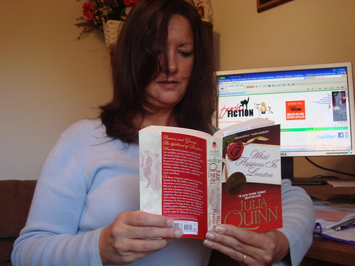Julia Quinn book fan photo