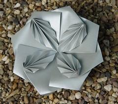 """4 leave tato box"" von Mélisande (Tagfalter) Tags: origami box"
