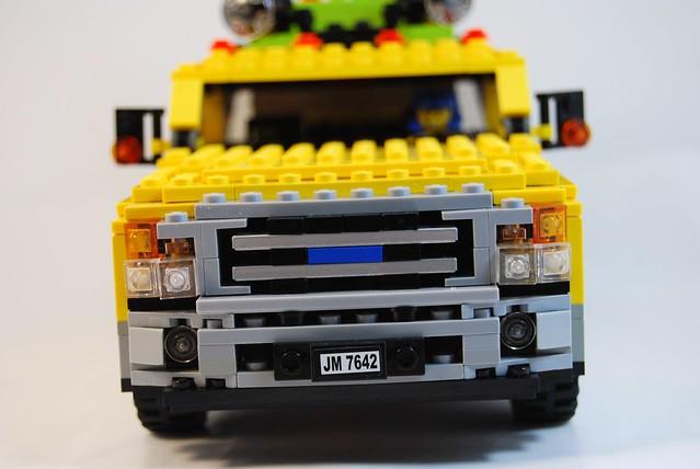 ford lego petrol tanker miners f350 moc