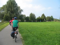 Cycling to Meissen, Germany