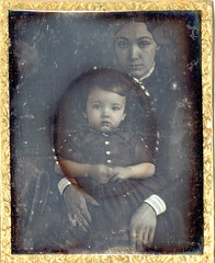 Hidden Mom (Mirror Image Gallery) Tags: daguerreotype victorianchildren hiddenmother