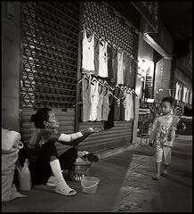 Poverty (Marty Johnston) Tags: poverty blackandwhite bw monochrome asian thailand blackwhite asia streetscene thai chiangmai streetthailand earthasia