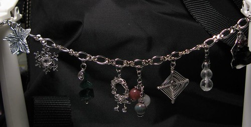 Christmas Charms Bracelet (by Simbel_myne)